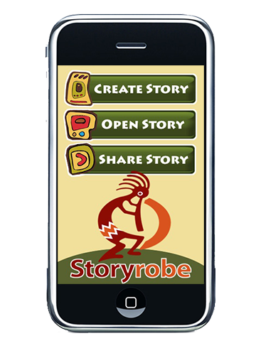 Storyrobe create story page